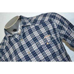 16158 Mens Lucky Brand Western Shirt Size Medium
